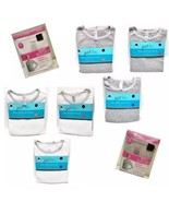 Woman's Thermal Tops Bottoms Sets All Sizes Black White Gray - $8.90+