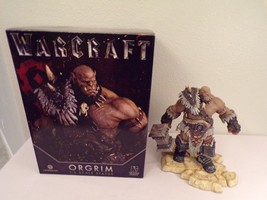 Warcraft Orgrim Doomhammer 1:6 Scale Statue Gentle Giant part broke read - $494.01