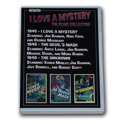 I LOVE A MYSTERY FILMS COLLECTION - 2 DVD-R - 3 MOVIES