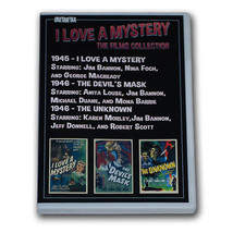 I LOVE A MYSTERY FILMS COLLECTION - 2 DVD-R - 3 MOVIES - $13.10