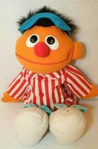 1996 TYCO Talking Sleepy Time Snoring Ernie Plush Doll Bedtime Sesame St... - $19.95