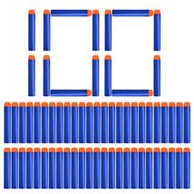100 Refill Foam Darts Bullets Pack for Nerf N-strike Series Blaster Toys - $10.99