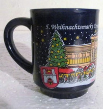 2004 Cobalt Blue Weihnachtsmarkt Ernest August Ceramic Coffee Mug - $16.50