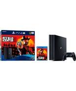 PlayStation 4 Pro 1TB Console - Red Dead Redemption 2 Bundle - $599.99