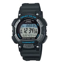 Casio Original New STL-S300H-1A Tough Solar Digital Womens Watch Blue w/Box - $67.53 CAD