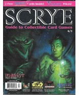 Scrye Collectible Card Game Price Guide Magazine #4.1 Magic Star Wars 19... - $5.48