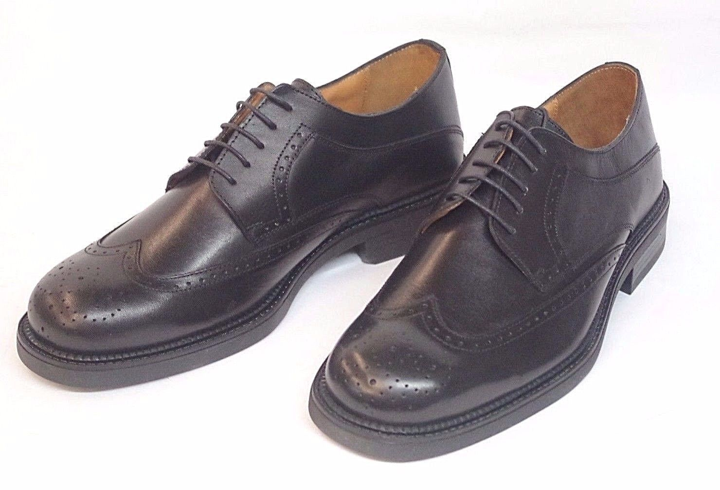Georgio Brutini Private Collection Black Basket Weave Men's Size 12 M Shoes