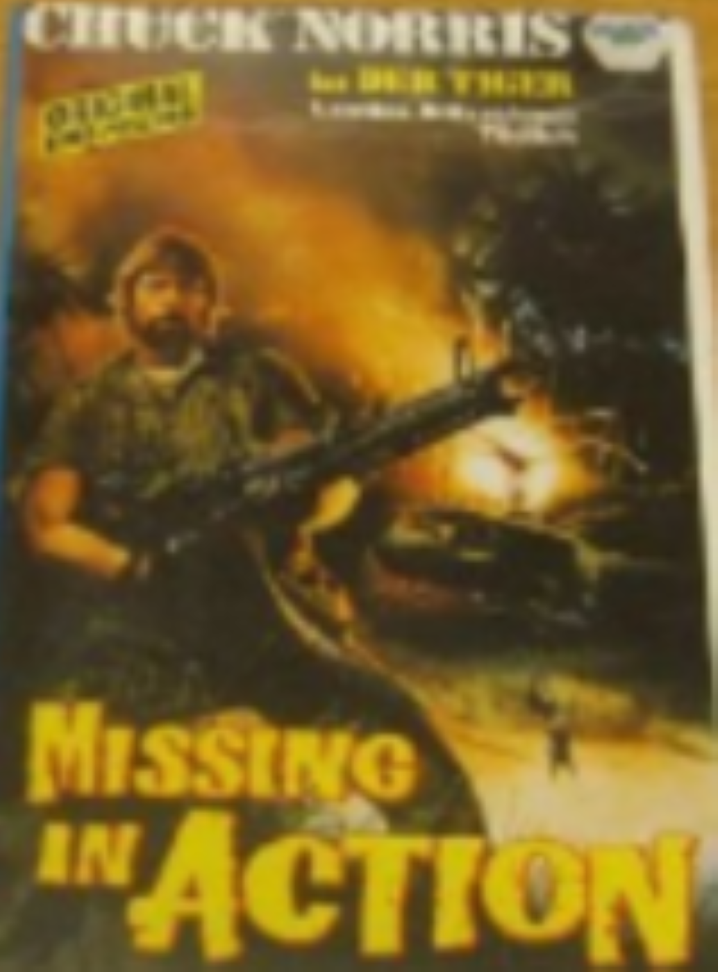 Missing in Action Vhs