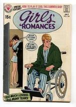 Girls' Romances #150 1970-DC-WHEELCHAIR cover-COMIC Book - $37.83