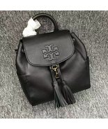 Authentic Black Tory Burch Thea Mini Backpack - $360.00