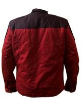 Guardians Of Galaxy Vol 2 Star Lord Peter Quill Chris Red Cotton Biker Jacket image 3