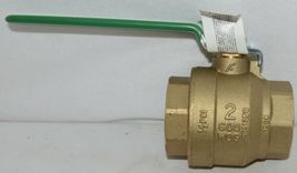 A Y McDonald 10710 Gas Ball Valve 2 Inch 4901 115 Non Potable Use image 3