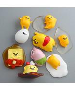 Gudetama Sanrio Egg Lazy New Japan Kawaii Plush Set Keychain Gund Toy Pe... - $5.95