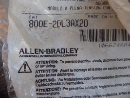 Allen-Bradley 800E-2DL3AX20 Bulletin 800E Series Full Voltage Module w/Latch New image 2