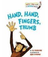 Hand, Hand, Fingers, Thumb by Al Perkins Cat In Hat Dr. Seuss Library Hardcover - $9.45