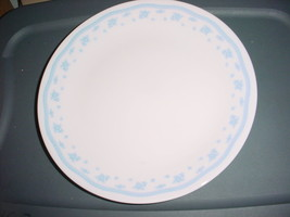 CORELLE MORNING BLUE DINNER PLATES 10.25 INCH X 4 BRAND NEW FREE USA SHI... - $30.84