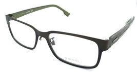 Diesel Rx Eyeglasses Frames DL4098 098 57-18-145 Olive / Grey Denim - $58.80