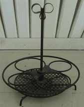 Nice Metal Condiment Caddy, VERY GOOD CONDITION, GREAT ITEM - $16.82