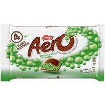 6 Aero Peppermint Chocolate Bars Full Size 41g Each NESTLE Canada -FRESH! - $11.83