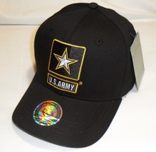 US ARMY With Army Star - U.S. Army Black Military Hat Baseball Cap Hat - $23.95