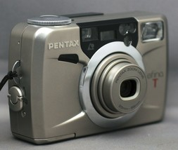 PENTAX efina T 35mm Film Camera Auto Zoom 23-69mm lens - $25.20