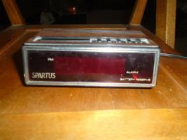 Spartus 1108 Alarm Clock - $9.99