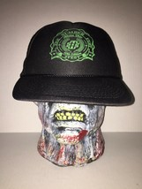 The Number Fest Athens Ohio Black Green Snapback Hat Ball Cap Concert 10th - $24.74