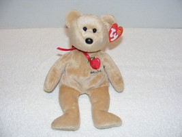 "2004 Ty B EAN Ie Babies ""Big Apple"" New York Bear With Flaws Tag Guc - $12.99"