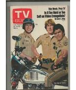 ORIGINAL Vintage January 30, 1982 TV Guide Magazine CHIPS Erik Estrada - $14.84