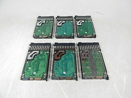 "Lot Of 6x Hp Seagate EG0300FAWHV ST9300603SS 2.5"" 300GB 10K Rpm Sas Hard Drive - $53.46"