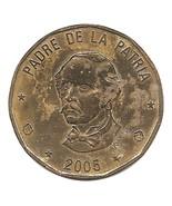 Dominican Republic 1 Peso, 6.5g Brass Coin, 200... - $2.99