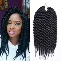 Refined Hair Synthetic Crochet Braids For Woman 12Inch 12Roots/Pack Ombr... - $24.49