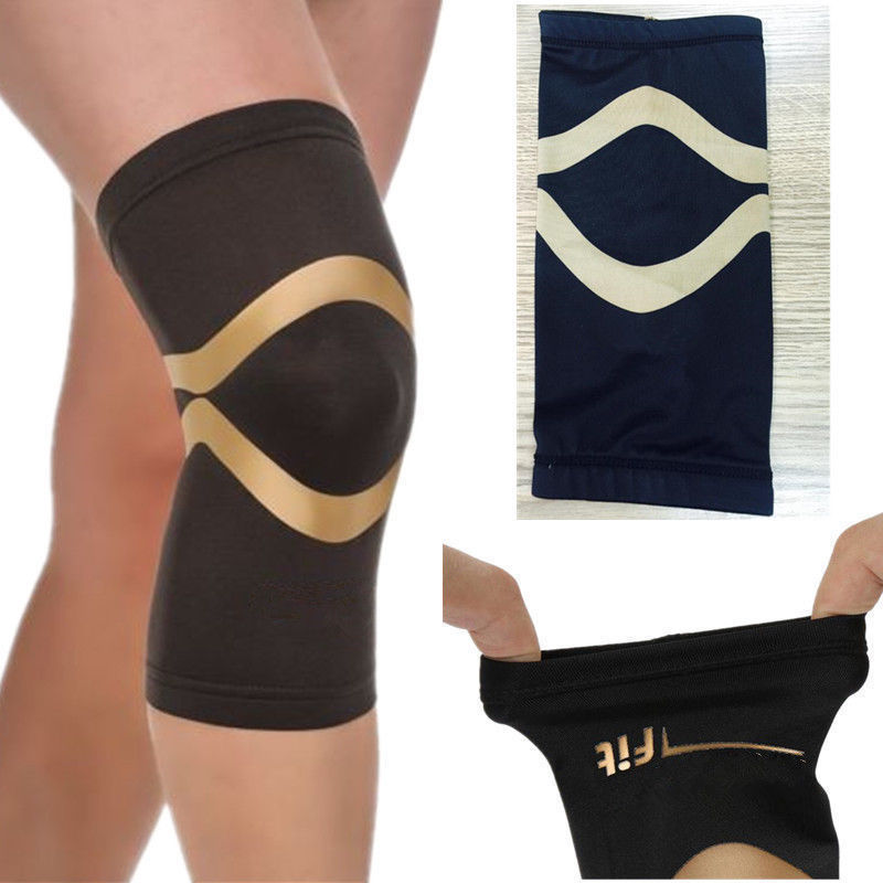 a2571655c1 2 PACK- Copper Fit PRO Series Performance Compression Knee Sleeve Brace  -large