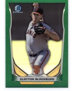 2014 Bowman Draft Chrome Top Prospects Green Refractor #CTP-83 Clayton B... - $6.00