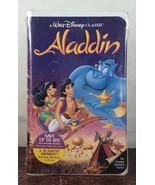 Aladdin 1993 Black Diamond Edition VHS (FACTORY SEAL) - $2,805.00