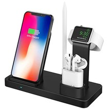 BESTBEING Wireless Charger, 3 in 1 Wireless Charging Dock for Apple (4in... - $30.68