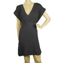 DVF Diane Von Furstenberg New Tasha Gray Belted Tunic Dress Cover Up Sz S - $147.51