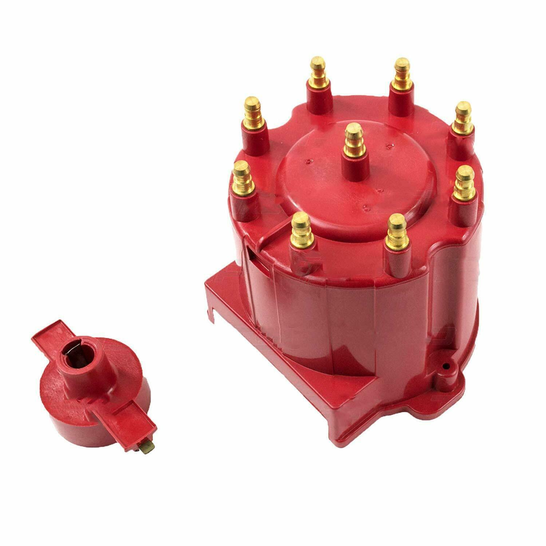 A-Team Performance GM 454 305 350 RED 8-Cylinder EFI Distributor Cap & Rotor Kit