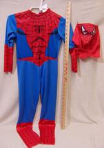 Boys Child Spiderman Halloween Costume Marvel 2009 Size Small 6 Jumpsuit... - $14.84