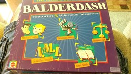 BALDERDASH Mattel 2003 Edition The Classic Bluffing Board Game 100% Comp... - $25.24