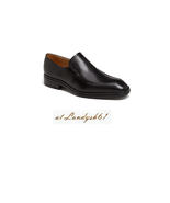 Bally Caddo Black Men's Leather Fashion Soft Loafer Shoes Size 11.5 D NEW - $267.29