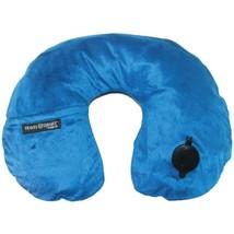 Travel Smart TS44NVY EZ Inflate Fleece Neck Rest (Navy) - £22.17 GBP