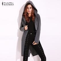 2017 ZANZEA Fashion Womens Autumn Hoodie Long Sleeve Asymmetrical Zipper... - $30.40