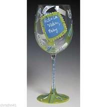 Lolita TTFN Wine Glass New in Box T.T.F.N. Ta Ta For Now Retired Rare !! - $28.04