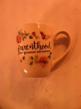 PARENTHOOD--THE GREATEST ADVENTURE --COFFEE MUG / CUP----FREE SHIP--NEW - $16.16