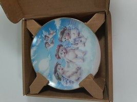 Dreamsicles THE FLYING LESSON Plate Limited Edition 1994 Hamilton Collec... - $14.85