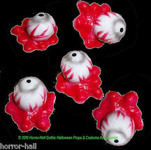 Bloody SEVERED EYEBALLS Body Parts Walking Dead ZOMBIE Halloween Horror ... - $2.94