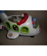 Little People Electronic Musical Talking lights Airplane w 4 Figures,pilot +3 - $8.90