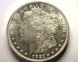 1921 MORGAN SILVER DOLLAR CHOICE ABOUT UNCIRCULATED++ CH. AU++ NICE ORIG... - $48.00