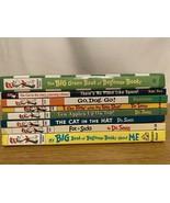 Lot Dr Seuss 8 books, 18 stories, Go,Dog.Go!, Fox in Socks, The cat in t... - $49.99